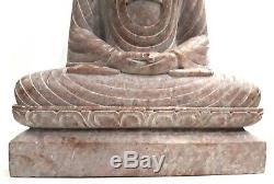 10 Vintage Art Soapstone Buddha Figurine Statue Hand Carved Religious Idol