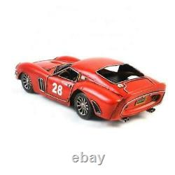 118 Scale 1962 Ferrari 250 Gto Vintage Petite Car Collection Artwork