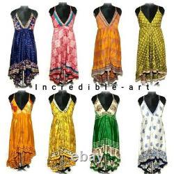 20 Pieces Lot Women Summer Boho Long Maxi Cocktail Beach Party Dress Sandress