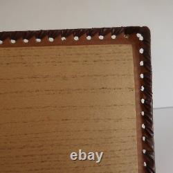 20th Century Handmade Pn France Paper Paper Letter Preservation Book Box