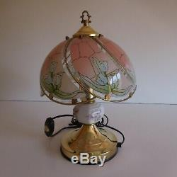 2 Bedside Lamps Lighting Good Laurel Osoo Vintage Art Deco New N3736