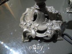 2 Vintage Vase Cone Centerpiece Napoleon New Art