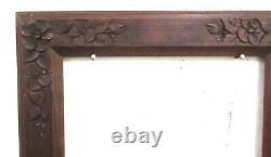 35x42 CM Frame For Antique Frames Vintage Art Nouveau Floral Liberty Bm37
