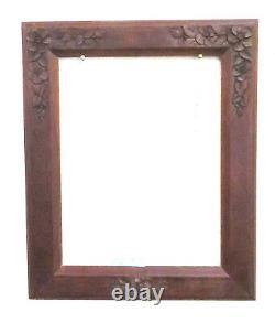 35x42 CM Framework For Panels Antique Vintage Floral Art Nouveau Liberty Bm37