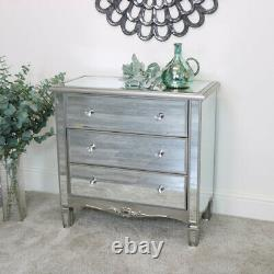 3 Drawer Copié Fashion Vintage Art Deco Room Storage Furniture