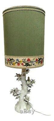 50s Maiolica Ceramic Lamp Design Clara Istler Art Nouveau Vintage