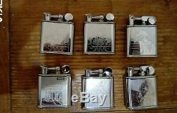 6 Lighter Species Elge Vintage Art Deco (nine)