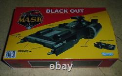 A. Mr. S. K Kenner Mask Black Out For Collection Vintage Style Cutom Fan Art