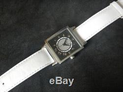 Amazing Square Watch Dial At 24 And 2 Tons Figures Art Deco Steel Newfoundland