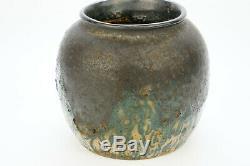 Andre Metthey1871-1920 Vase Gres Ceramic Vintage Art Nouveau, Art Deco Pottery