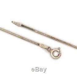Antique Vintage Art Nouveau Silver 800 Silver Catholic Pendant Cross Necklace