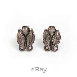 Antique Vintage Art Nouveau Sterling Silver Molding Georg Jensen Style