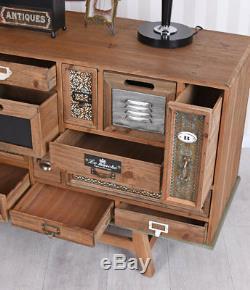 Art Deco Console Dresser Loft Studio Industrial Buffet Schubldenschrank