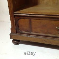 Art Nouveau Cabinet Mahogany Cabinet Vintage Crockery Gründerzeit