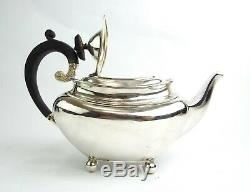 Art Nouveau Sterling Grass Apothecary Teapot Vintage Arts & Crafts In 1906
