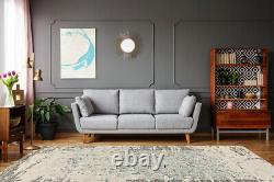 Arte Espina Carpet Ornament Vintage Fioriture Modern Beige Cream 200x300cm