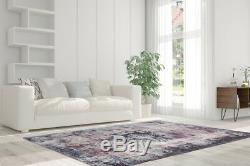 Arte Espina Oriental Vintage Carpet Design Aubousson Purple Cream 200x290