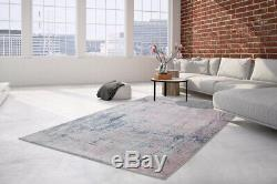 Arte Espina Rugs Modern Loft Vintage Gradient Blue Gray Pink 170x240cm