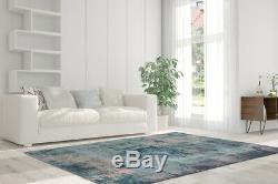 Arte Espina Rugs Oriental Vintage Design Aubousson Turquois Blue Gray 200x290cm