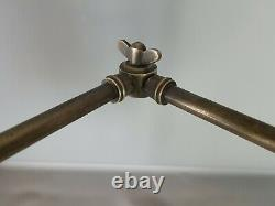 Articulated Lamp Shop With 3 Arms & Table Bracket, Vintage