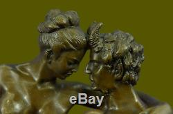Austrian Bronze Erotic Demon Satyr Sculpture Figurine Vintage Art