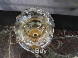 Bedside Lighting Vintage Deco Table Lamp New Marble Alabaster Glass Art N490