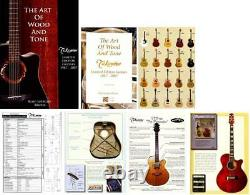 Book Takamine Guitar Art Of Wood Ltd Guitare Live 1st Ed 2007 Vintage Collecto