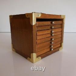 Box 8 Coasters Handmade Vintage Art Deco Design Twentieth Pn N2825 France