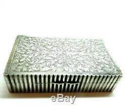 Box Vintage Ans'10 Sterling Silver 800 Art Nouveau Liberty Italy