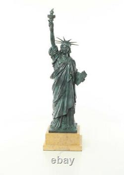 Bronze Sculpture Freiheits Luxury Statue Vintage Gift Kunstskulpture 61.5 CM