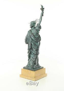 Bronze Sculpture Freiheits Statue Deluxe Gift Vintage Kunstskulpture 61.5 CM