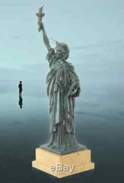 Bronze Sculpture Statue Freiheits Deluxe Gift Vintage Kunstskulpture 61.5 CM
