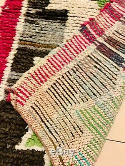 Carpet Boucherouite Vintage Berber Designs Moroccan