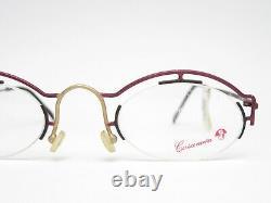 Casanova Clayberg-4 Designer Vintage Glasses Mount From Italy Rare Art