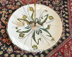 Ceiling Lamp Vintage Dome Acid Etched Glass Dome Chandelier Decor Art Nouveau