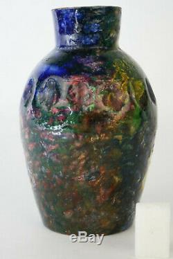 Ceramic Max Claudet Vase, Ceramic Vintage Art Deco, Art Pottery New Design