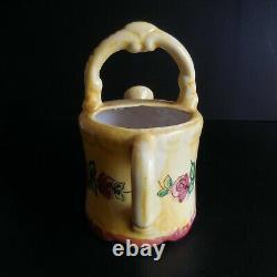 Ceramic Sprinkler Faience Hand Made Vintage Art Nouveau Déco 20th House N5054