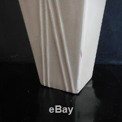 Ceramic Vase Earthenware Vintage Art Nouveau Deco Design Twentieth France Pn N2834