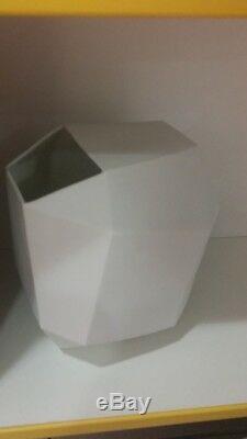 Ceramic Vase -porcelain -vintage -year 80 -price Of Design Aldo Cavanna