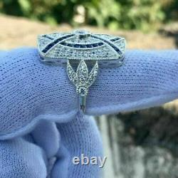 Certified 1.55ct Former Creator Vintage Art Deco Diamond Engagement Ring Gift