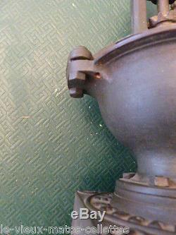Coffee Grinder Counter Peugeot Freres N ° 1 A / Vintage / Industrial