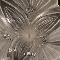 Crystal Glass Vase Vase Twentieth Vintage Design Art Deco New Pn N2816 France