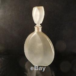 Decanter Crystal Glass Vintage Art Deco New Design Twentieth France N3659
