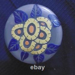 Glass Box Depoli Decoration Emailthe Old Hand Vintage Art Nouveau Art Deco