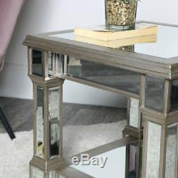 Golden Copied Tableware Vintage Retro Art Deco Beveled Edge Dining Room Furniture