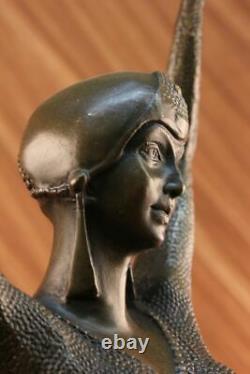 Great Vintage Art Deco Dancer Dimitri Chiparus Signed Bronze Sculpture Figurine