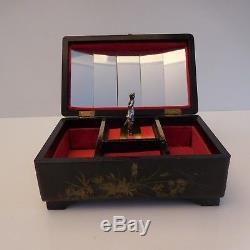 Handmade Jewelry Box Music Box Vintage Nineteenth Art Nouveau Asia