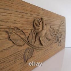 Handmade Woodcut Sculpture Vintage Art Nouveau Deco Pn France N2893