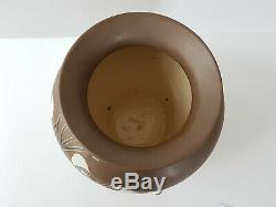 Important Art Deco Art Nouveau Ceramic Vase 1920 1930 20s 30s Vintage