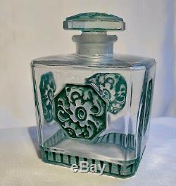 Julien Viard Perfume Bottle Art Deco Vintage Perfume Bottle Art Nouveau 1920